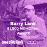 Call for submissions: The Barry Lank $1,500 Memorial Award